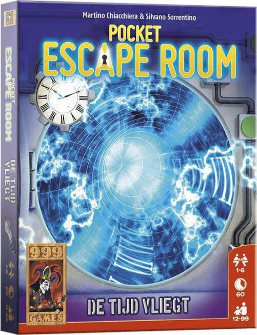 Pocket escaperoom - De tijd vliegt